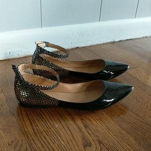 Bcbgeneration Flat Patent Leather Shoe